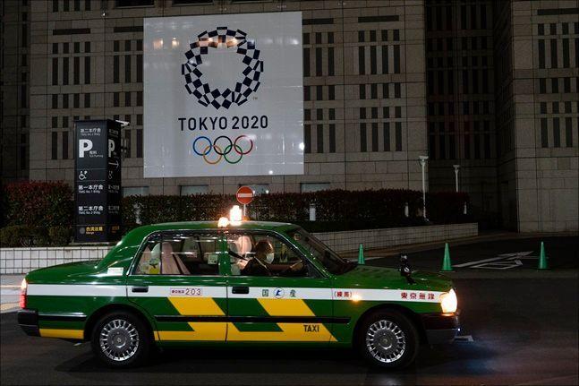 도쿄올림픽 연기 발표 이후 일본 도쿄에서는 코로나19 확진자가 급증하고 있다. ⓒ 뉴시스