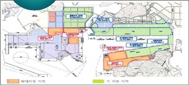 부산항 자유무역지역 확대 지정안 ⓒ해수부