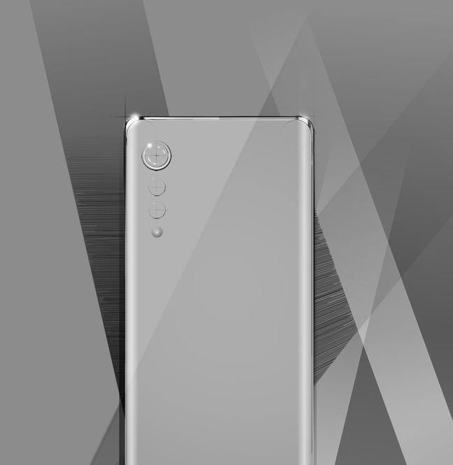 LG전자 전략 스마트폰 'LG 벨벳'.ⓒLG전자