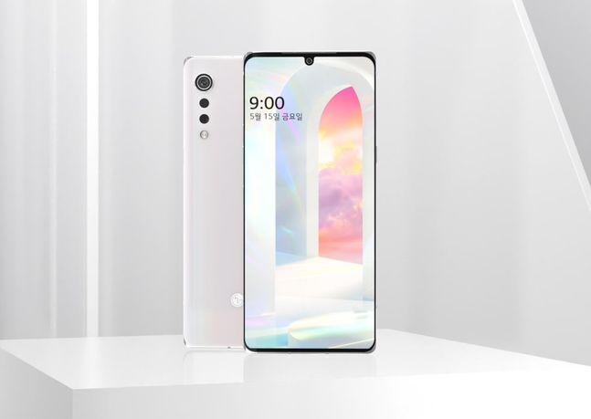 LG전자 전략 스마트폰 'LG 벨벳(VELVET)'.ⓒLG전자