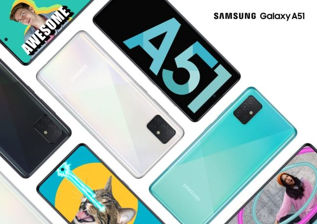 삼성전자 스마트폰 '갤럭시A51'.ⓒ삼성전자