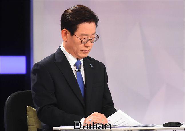 이재명 경기도지사가 지난 2018년 5월 서울 여의도 KBS에서 열린