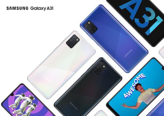 삼성전자 스마트폰 '갤럭시A31'.ⓒ삼성전자