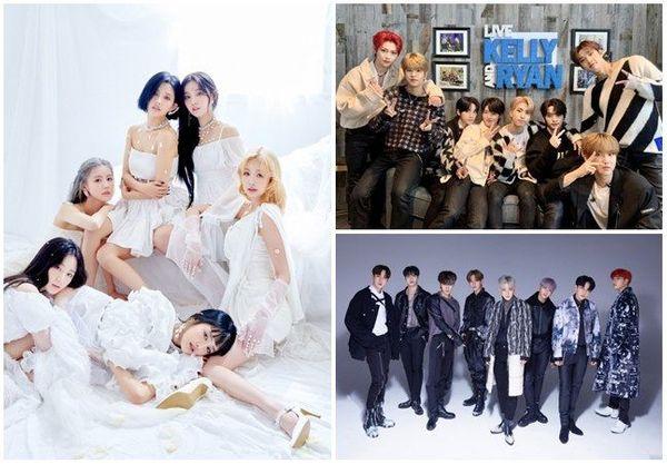 ⓒ큐브엔터테인먼트, JYP엔터테인먼트, KQ엔터테인먼트