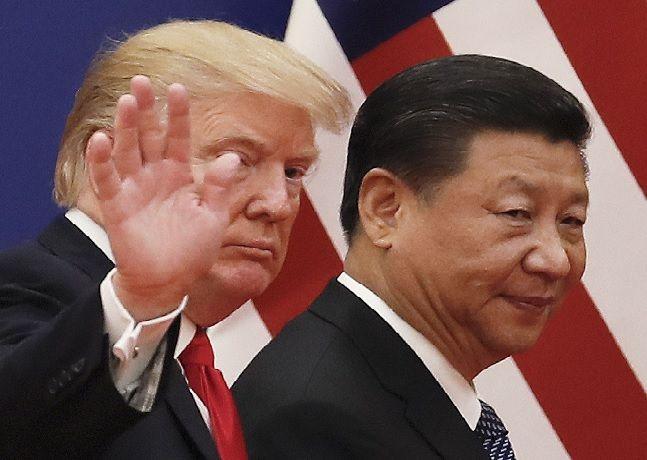 도놀드 트럼프 미국 대통령과 시진핑 중국 국가주석(자료사진) ⓒAP/뉴시스