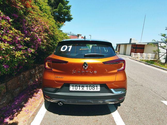 르노 캡처(Renault CAPTUR)ⓒ데일리안 조인영 기자