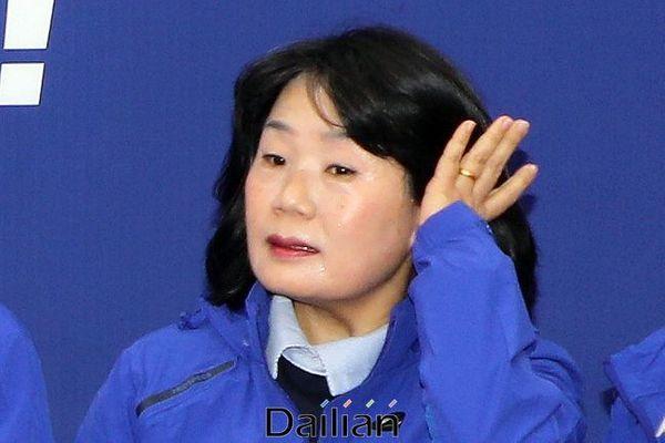 한국정신대문제대책협의회(정의기억연대 전신) 이사장을 지낸 윤미향 더불어시민당 비례대표 당선인. ⓒ데일리안 박항구 기자