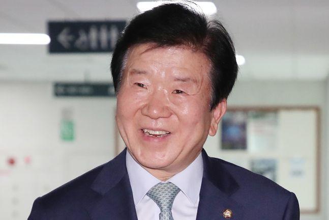 박병석 민주당 의원이 21대 국회 전반기 국회의장으로 사실상 추대됐다. ⓒ뉴시스