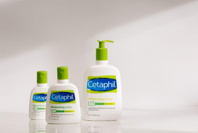 세타필은 로션·밀크 타입 제품 브랜드 점유율 1위를 차지했다고 20일 밝혔다. ⓒ세타필
