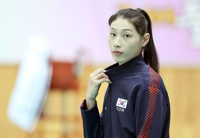 엑자시바시와의 계약이 만료된 김연경. ⓒ 뉴시스