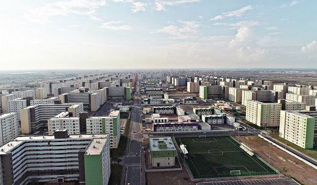 이라크 비스마야 신도시 모습. ⓒ한화건설