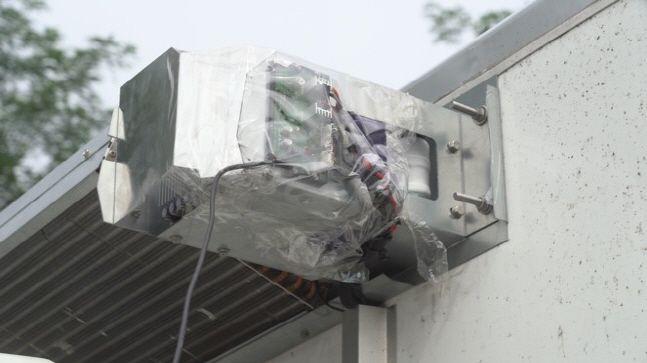 소무나가 개발한 냉장·냉동트럭 배터리 제어시스템.ⓒDB손해보험