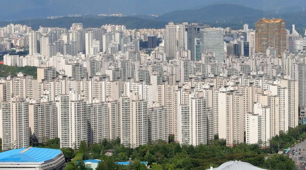 서울 아파트단지 전경.ⓒ뉴시스