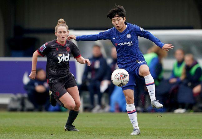 지소연이 활약하는 잉글랜드 여자 슈퍼리그(WSL)가 조기 종료됐다. ⓒ 뉴시스