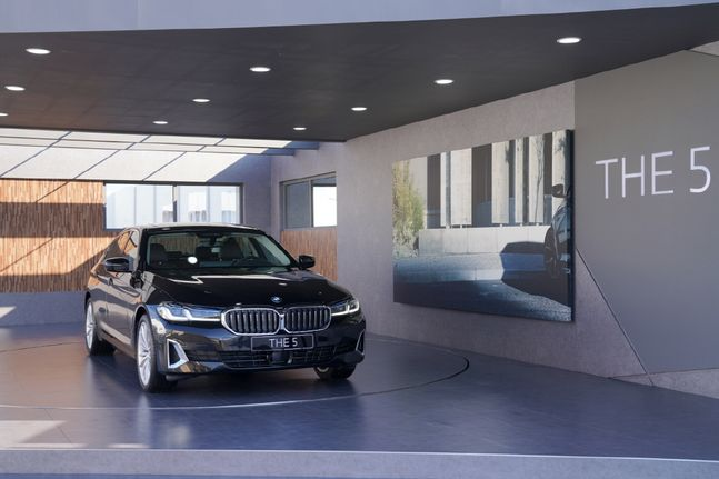 BMW 뉴 523dⓒBMW 코리아