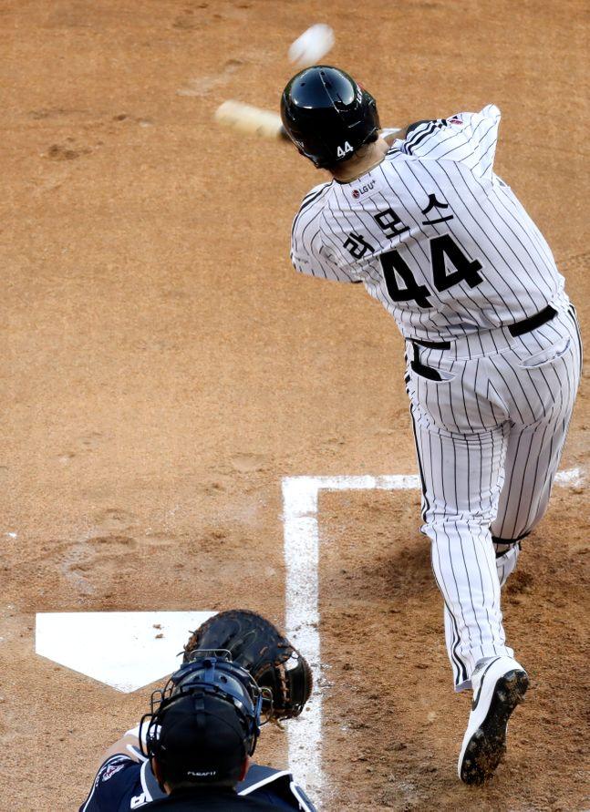 벌써 8개의 홈런을 기록한 라모스. ⓒ 뉴시스