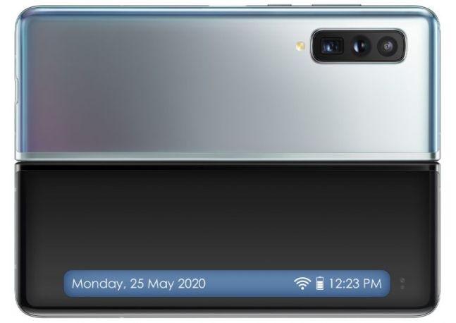 삼성전자 차기 폴더블 스마트폰 '갤럭시폴드2'(가칭) 렌더링. 렛츠고디지털 홈페이지 캡처
