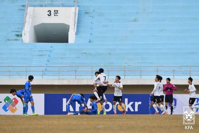 코로나19로 상반기에 열리지 못한 고교축구대회.(자료사진) ⓒ 대한축구협회