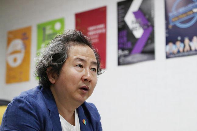 지춘성 서울연극협회장. ⓒ 데일리안 류영주 기자