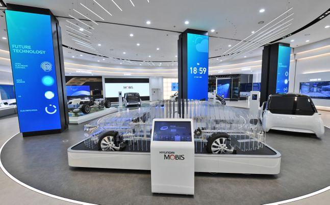 현대모비스 기술 홍보관(M.Tech Gallery) 전경. ⓒ현대모비스