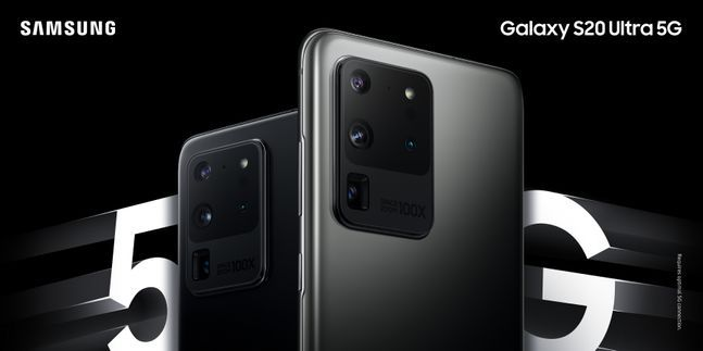 삼성전자 스마트폰 '갤럭시S20 울트라'.ⓒ삼성전자