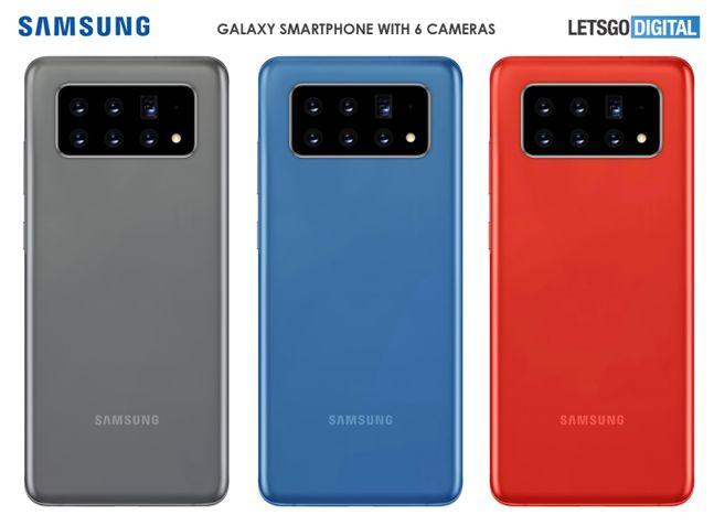 네덜란드 IT 매체 렛츠고디지털이 삼성전자 특허를 기반으로 만든 갤럭시 스마트폰 렌더링. 렛츠고디지털 홈페이지 캡처