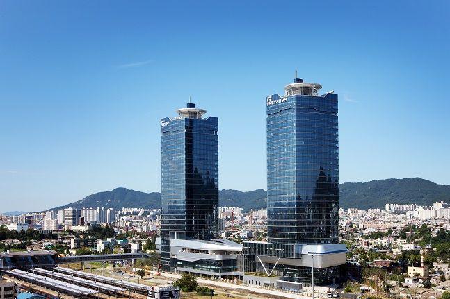 한국철도시설공단 사옥 모습. ⓒ철도공단