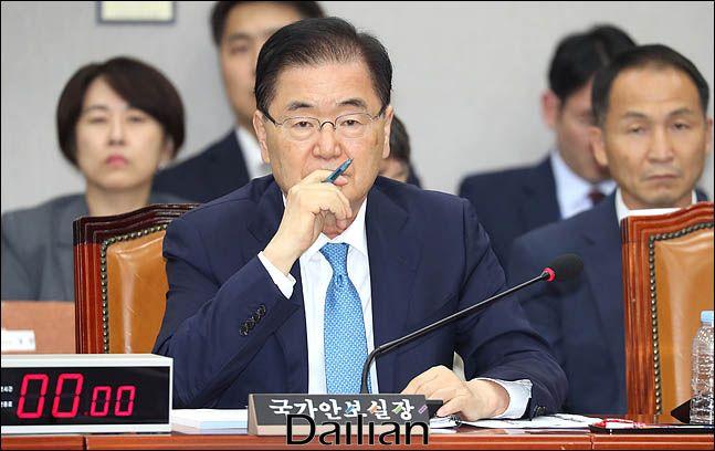 정의용 청와대 국가안보실장. (자료사진) ⓒ데일리안 박항구 기자