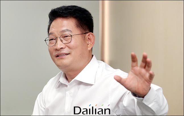 송영길 더불어민주당 의원ⓒ데일리안 박항구 기자