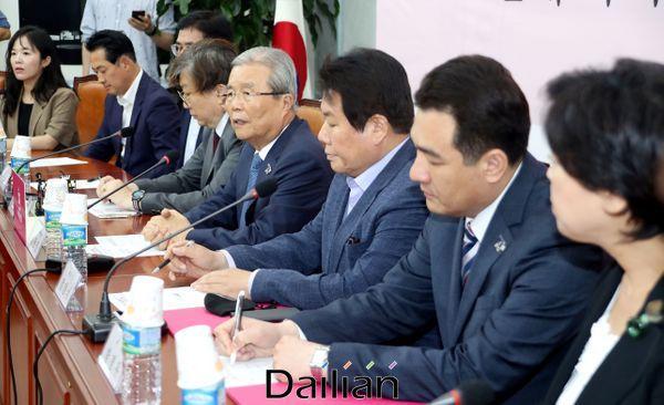 김종인 미래통합당 비상대책위원장이 22일 오후 국회에서 열린 4.15 총선 백서제작특위 제1차 회의에서 발언을 하고 있다. ⓒ데일리안 박항구 기자