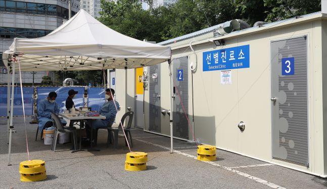 지난 9일 오후 서울 동대문구 서울동부시립병원 선별진료소가 다소 한산한 모습을 보이고 있다.(자료사진)ⓒ데일리안 홍금표 기자