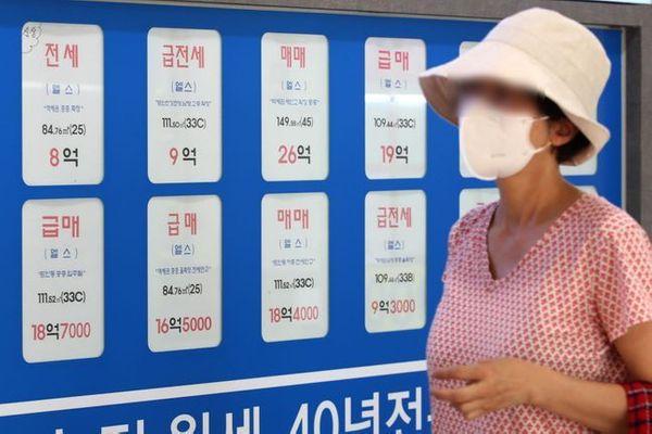 잠실의 한 공인중개업소 모습.ⓒ데일리안 류영주기자