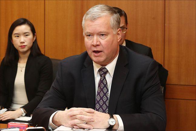 스티브 비건 미국 국무부 대북정책특별대표 (자료사진)ⓒ데일리안 홍금표 기자