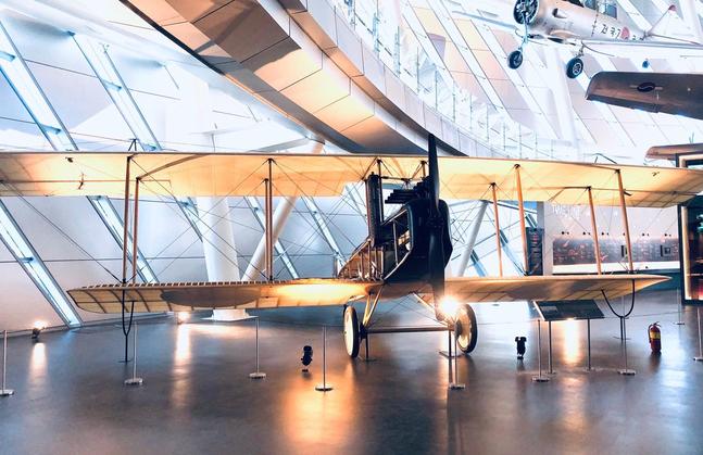 국립항공박물관에 전시된 스탠더드(Standard) J-1 ⓒ국토교통부