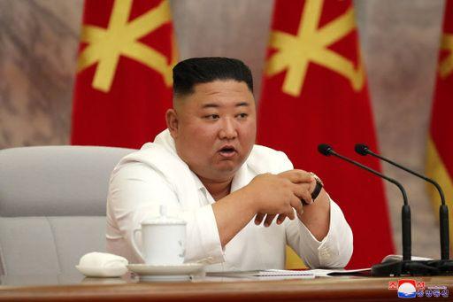 북한 김정은 위원장이 지난 2일 당 중앙위원회 본부청사에서 노동당 중앙위 정치국 확대회의를 열고 중요 정책적 문제들을 토의했다고 조선중앙통신이 3일 보도했다. ⓒ조선중앙통신