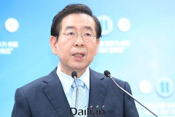 박원순 서울특별시장(자료사진). ⓒ데일리안 류영주 기자