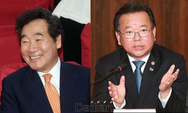 더불어민주당 이낙연 의원과 김부겸 전 의원ⓒ데일리안DB