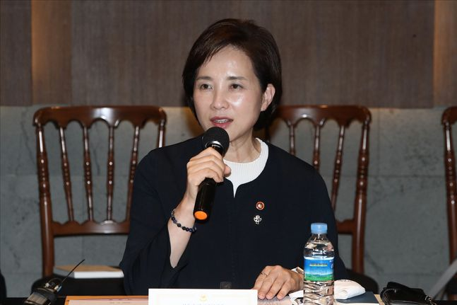 유은혜 교육부 장관. ⓒ 데일리안 홍금표 기자