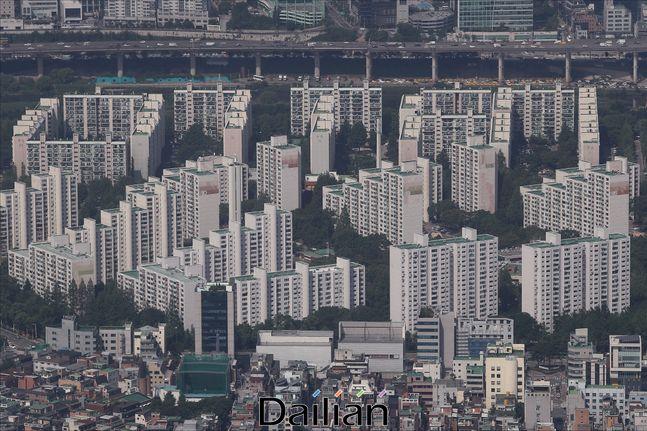 서울 시내 아파트 전경ⓒ데일리안 홍금표 기자
