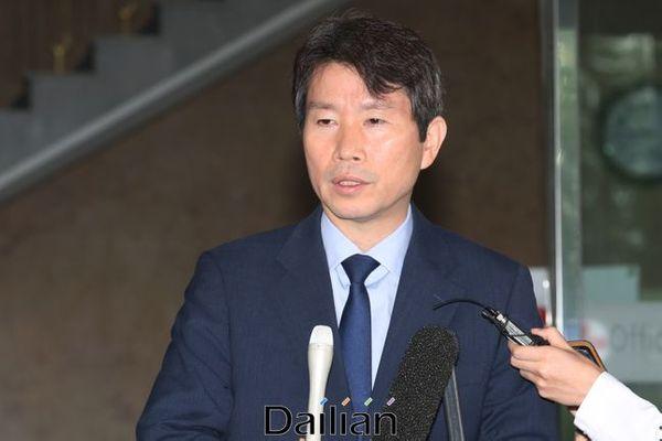 이인영 통일부 장관 후보자(자료사진). ⓒ데일리안 류영주 기자