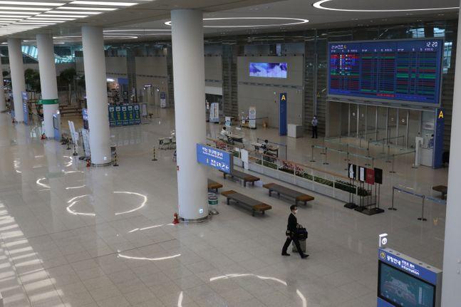 인천국제공항 제2여객터미널 도착장(자료사진). ⓒ데일리안 류영주 기자