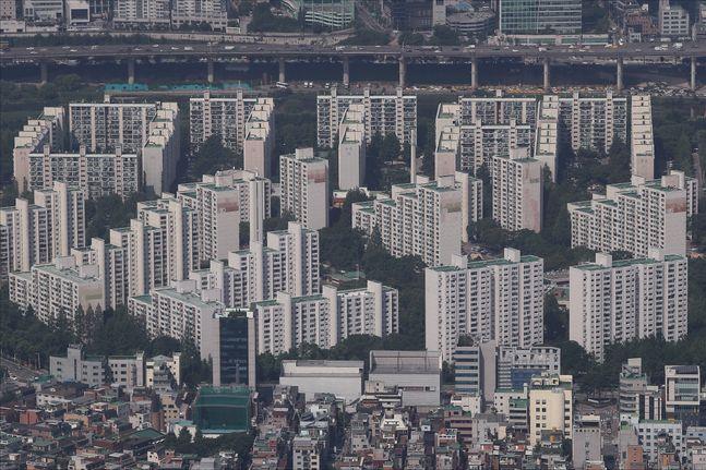서울에 위치한 한 아파트 밀집지역 모습. ⓒ데일리안 홍금표 기자
