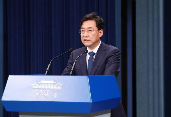 강민석 청와대 대변인. (자료사진) ⓒ뉴시스