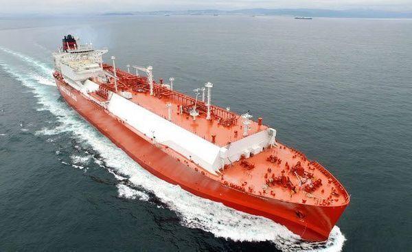 현대중공업이 건조한 LNG 운반선 ⓒ현대중공업