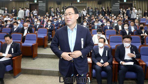 주호영 미래통합당 원내대표(자료사진) ⓒ데일리안 박항구 기자