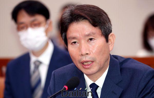 이인영 통일부 장관(자료사진). ⓒ데일리안 박항구 기자