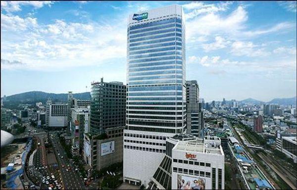 두산그룹 본사가 위치한 서울 동대문 두산타워 전경.ⓒ두산