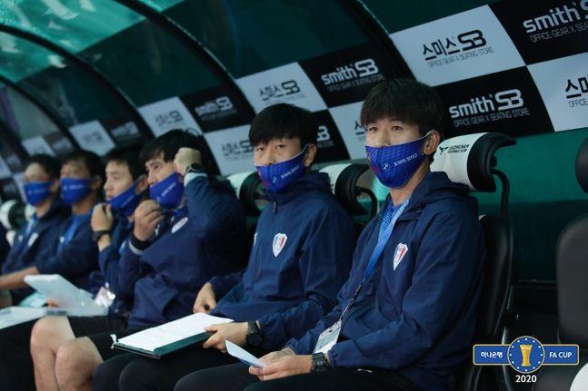 FA컵 8강전서 탈락한 수원 삼성. ⓒ 대한축구협회