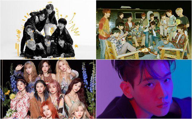 ⓒ빅히트, 플레디스, JYP, SM엔터테인먼트