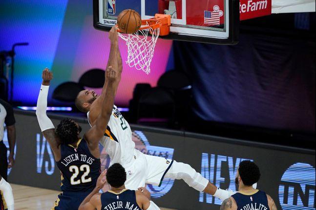 NBA가 4개월 만에 농구 팬들을 찾아왔다. ⓒ 뉴시스